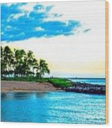 Harbor View Ko Olina  Wood Print