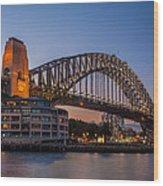 Harbour Bridge Wood Print