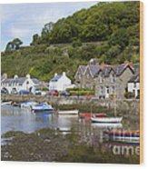 Harbourside Wood Print