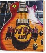 Hard Rock Wood Print