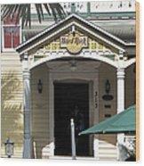 Hard Rock Key West Wood Print