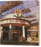 Hard Rock Cafe At Union Station Wood Print