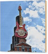 Hard Rock Cafe - Baltimore Wood Print