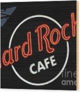 Hard Rock - St. Louis Wood Print