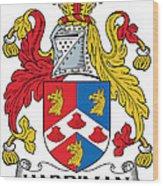 Hardiman Coat Of Arms Irish Wood Print