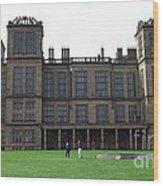Hardwick Hall Wood Print