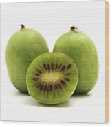 Hardy Kiwifruit Wood Print