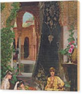 Harem Women Wood Print