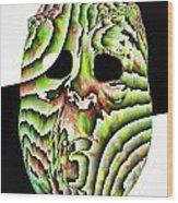 Harlequin Wood Print