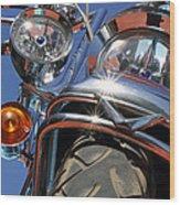 Harley Close Up Wood Print