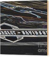 Harley Davidson 1 Wood Print