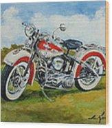 Harley Davidson 1943 Wood Print