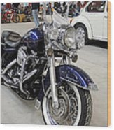 Harley Davidson Detail Wood Print