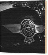Harley Davidson Usa Wood Print