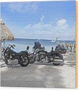 Harley Heaven Wood Print