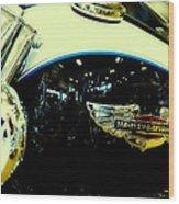Harley Hog Wood Print