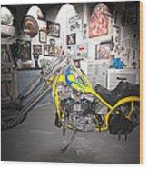 Harley Operating Room Wood Print