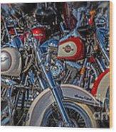 Harley Pair Wood Print