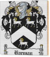 Harman Coat Of Arms Carlow Ireland Wood Print