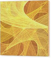 Harmonic Composition Wood Print