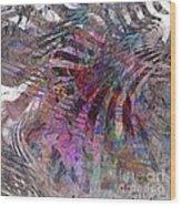 Harmonic Resonance - Square Version Wood Print