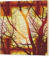 Harmonious Colors - Sunset Wood Print