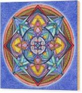 Harmony Mandala Wood Print