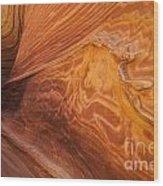 Harmony Of Stone And Light 2 Wood Print