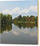 Harmony On The Boyne River Wood Print