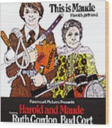 Harold And Maude, L-r Bud Cort, Ruth Wood Print