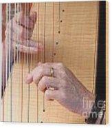 Harp Wood Print