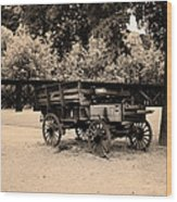 Harpers Ferry Wagon Wood Print