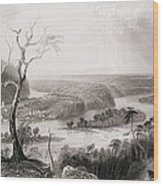 Harpers Ferry, West Virginia, From The History Of The United States, Vol. II, By Charles Mackay Wood Print