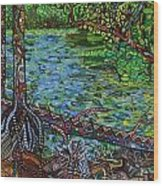 Harpeth River Wood Print
