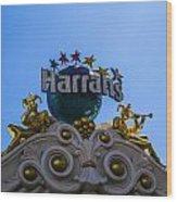 Harrahs Wood Print