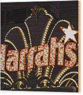 Harrahs - Las Vegas Wood Print