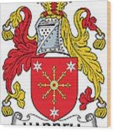 Harrell Coat Of Arms Irish Wood Print