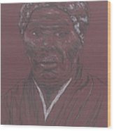 Harriet Tubman Wood Print