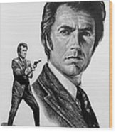 Harry Callahan Wood Print by Andrew Read