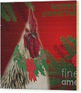 Harry Christmas Wishes Wood Print