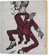 Harry Hop Wood Print