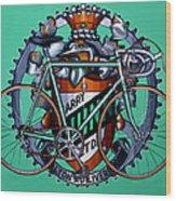 Harry Quinn Wood Print by Mark Howard Jones