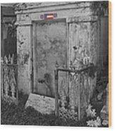 Harry T Hays Major General Lafayette Cemetery 1 Dsc05175 Wood Print