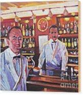 Harry's American Bar Wood Print
