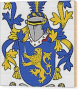 Hartigan Coat Of Arms Irish Wood Print