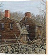 Hartwell Tavern 3 Wood Print