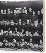 Harvard Football 1912 Wood Print