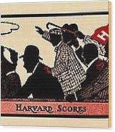 Harvard Scores 1905 Wood Print