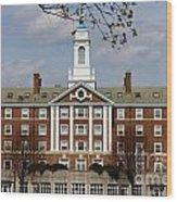 Harvard University Moors Hall Wood Print