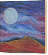 Harvest Moon 1 Wood Print